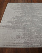 "Seafoam Ridges Rug, 5'6"" x 8'"