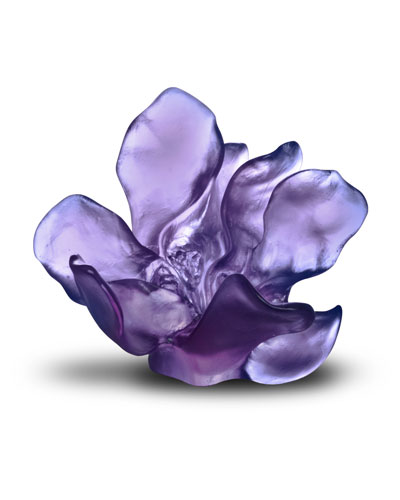 Jardin Imaginaire Purple/Blue Flower Sculpture