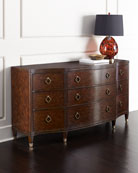 Bernadino Nine-Drawer Dresser