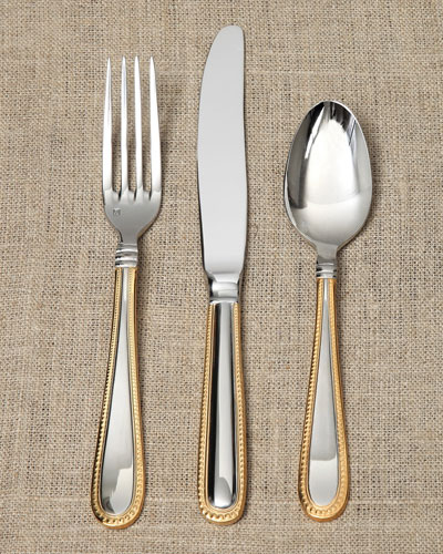 20-Piece Caviar Plated Flatware Service