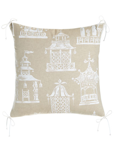 Ming Pagoda Pillow, 22