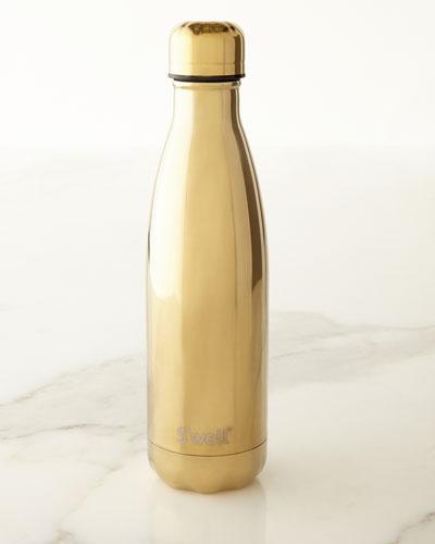 Yellow-Gold Metallic 17-oz. Reusable Bottle