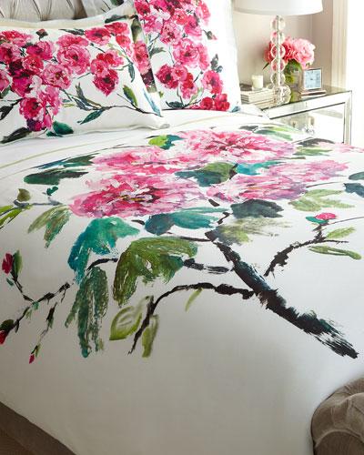 King Shanghai Garden Duvet Cover