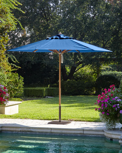 Blue Standard Canopy Outdoor Umbrella