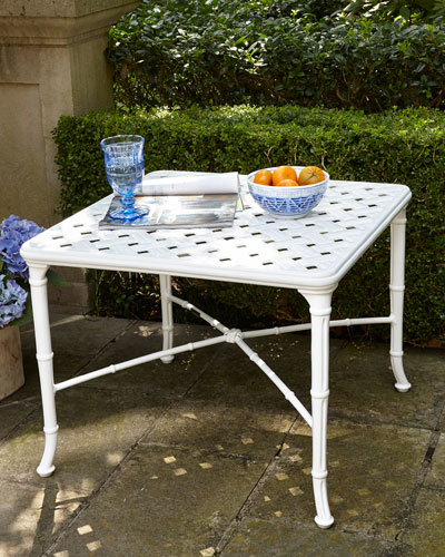 Calcutta Outdoor Side Table
