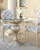 Empire Outdoor Dining Chair & Bistro Table &