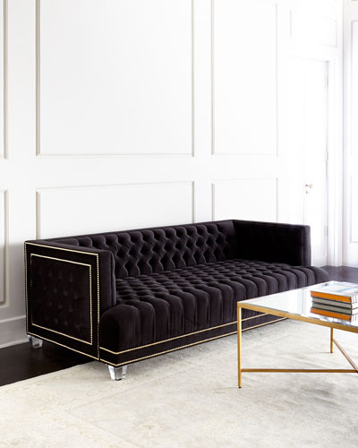 Quick Look Haute House Grace Tufted Sofa