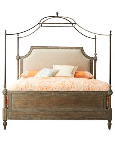 Cortina King Canopy Bed