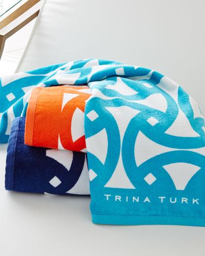 Santori Beach Towel, 36