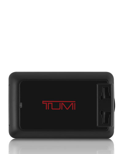 Tumi Black 4 - port Usb Travel Adaptor