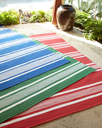 Harborview Stripe Indoor/Outdoor Rug, 4' x 6'