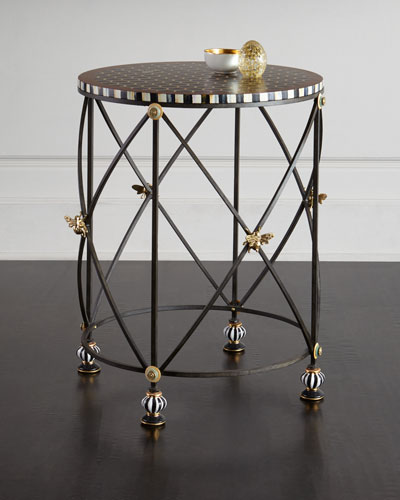 Honeycomb Accent Table