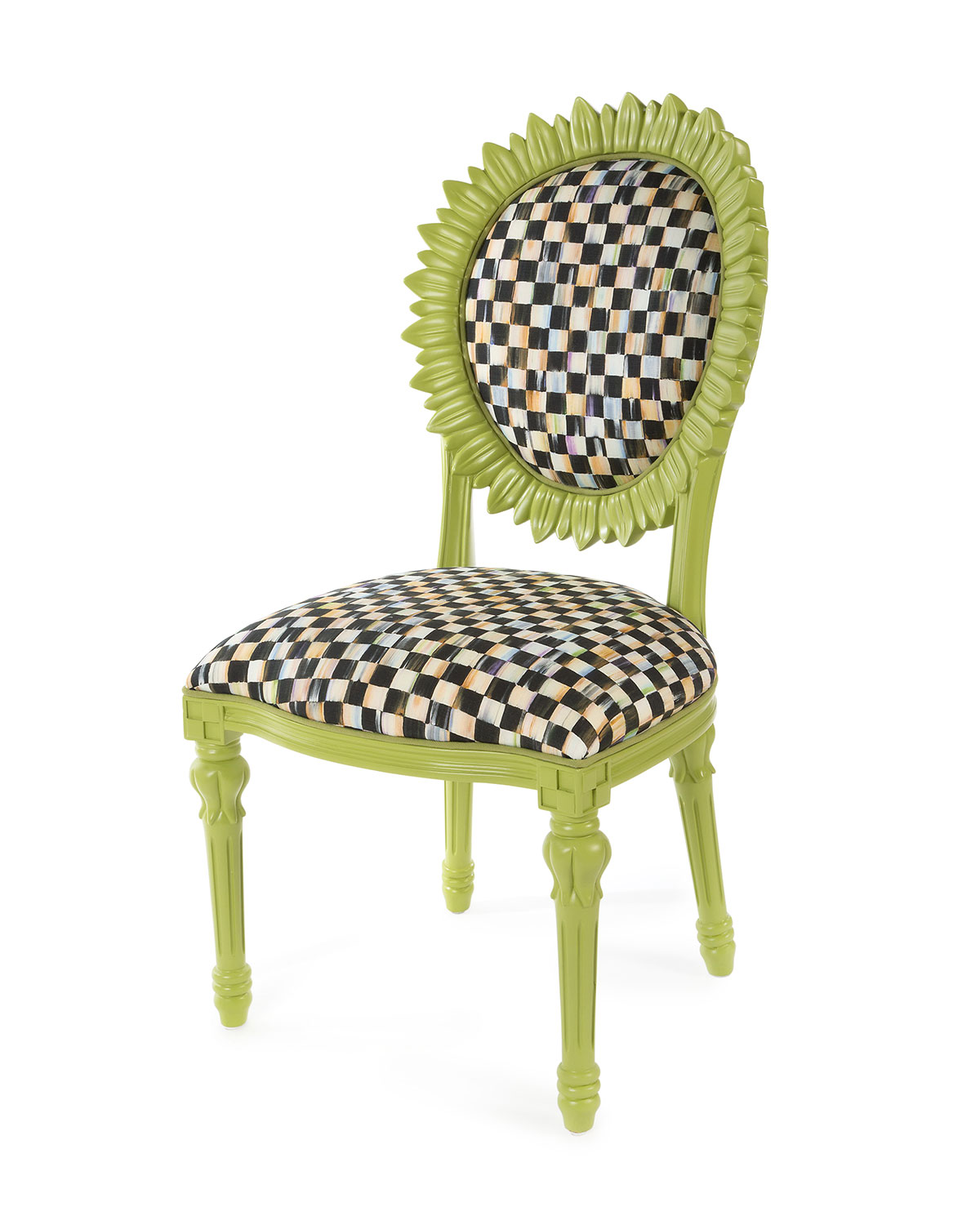 Sunflower Chartreuse Outdoor Chair
