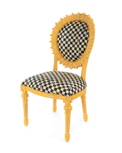 Sunflower Yellow Outdoor Chair