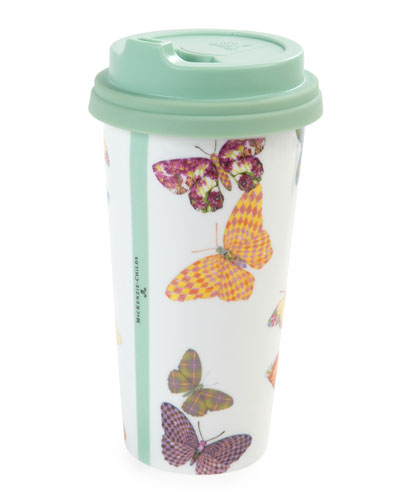 Butterfly Garden Travel Cup