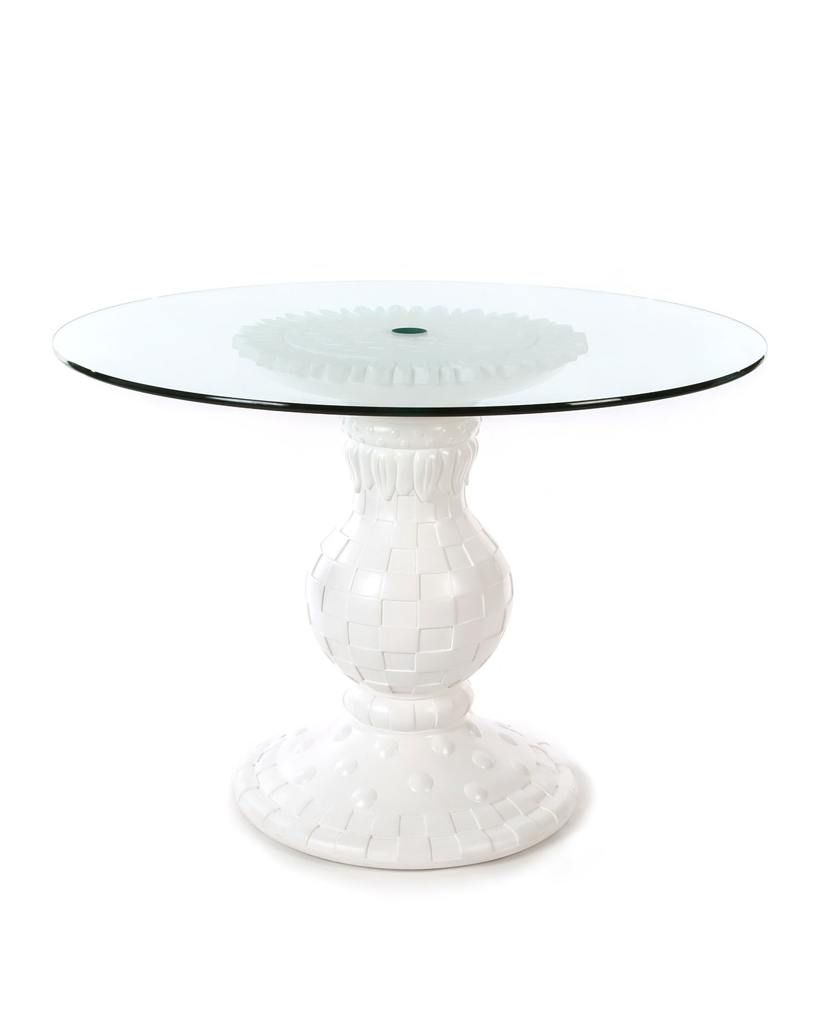 Sunflower White Outdoor Table
