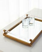 Moderne Brass Tray