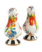 Flower Market Large Salt & Pepper Set