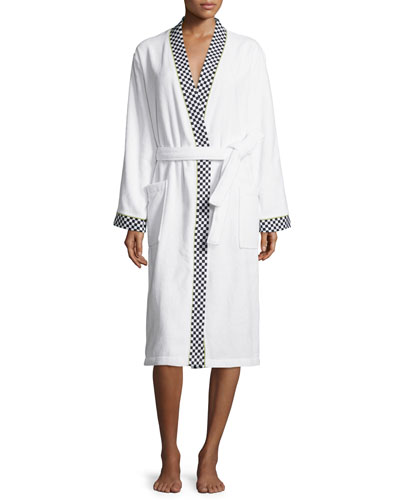 Courtly Check Medium Robe