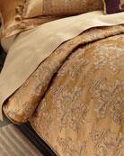 Queen Camilla Damask Duvet Cover