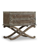 Hooker Furniture Cortina Two-Drawer Nightstand