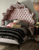 Maria Queen Tufted Bed