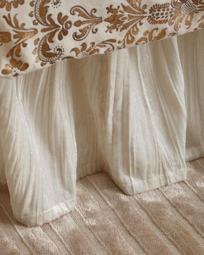 King Khari Crushed Velvet Dust Skirt