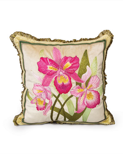 ORCHID 20X20 PILLOW