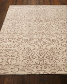 Etched Geometric Rug, 5' x 7'