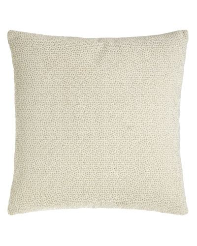 Embroidered Velvet Pillow, 18