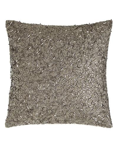 Metallic Beads Pillow, 12
