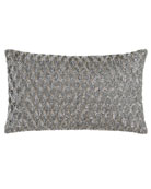 "Pompano Sequin Pillow, 12"" x 20"""