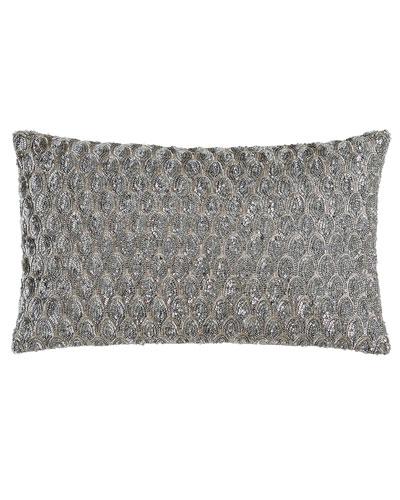 Pompano Sequin Pillow, 12