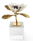 Single Crystal Bloom Floral Sculpture