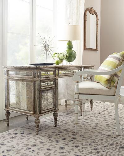 Sheridan Mirrored Desk