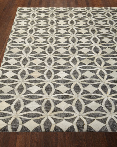 Killian Hairhide Rug, 5' x 7'6