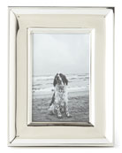 "Cove Silver 4"" x 6"" Picture Frame"
