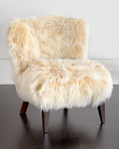 Lanza Sheepskin Chair
