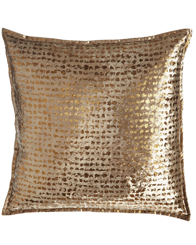Braedon Animal-Print Pillow, 18