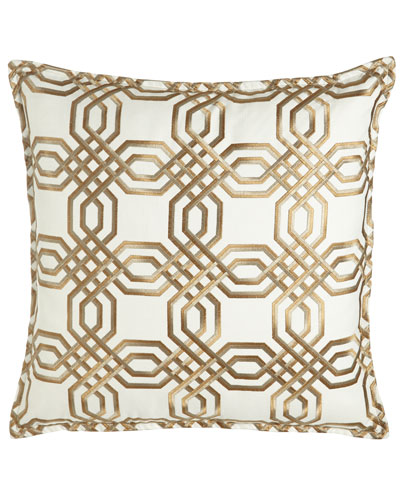 Braedon Embroidered Pillow, 19