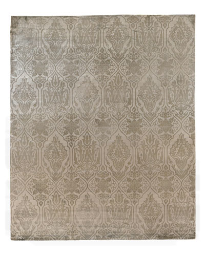 Beige Flatweave Rug, 8' x 10'