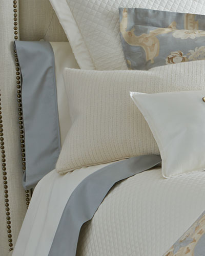 Two King Emilia 624TC Pillowcases
