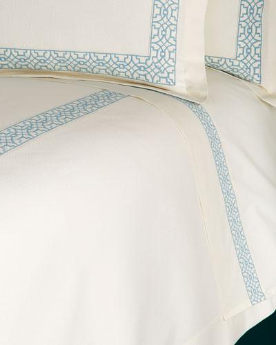 King Ming Embroidered Sheet Set