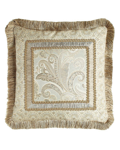 Cynthia Pillow with Fringe, 20
