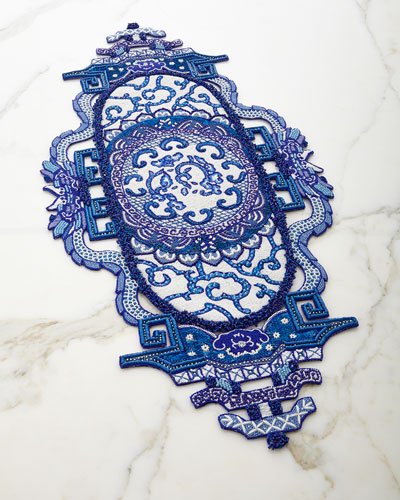 Chinoiserie Table Runner