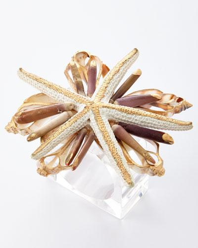 Beach Fleur Napkin Ring