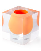 Bel Air Orange Mini Scoop Vase
