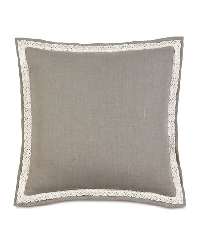 European Breeze Linen Pillow, 27