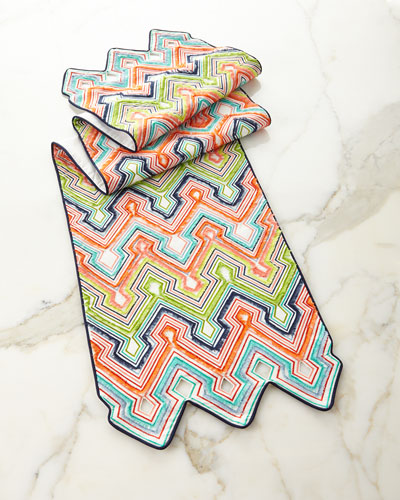 Palm Springs Table Runner