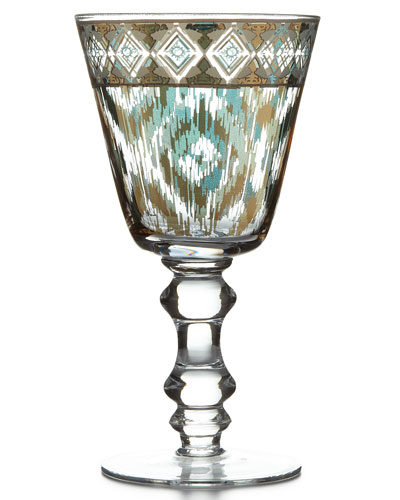 Mint Twist Goblets, Set of 4